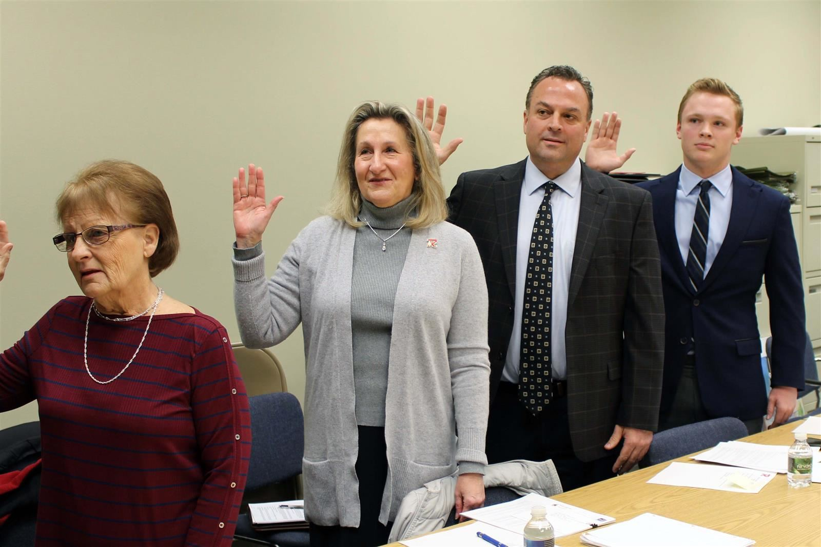 New Board Members Sworn In