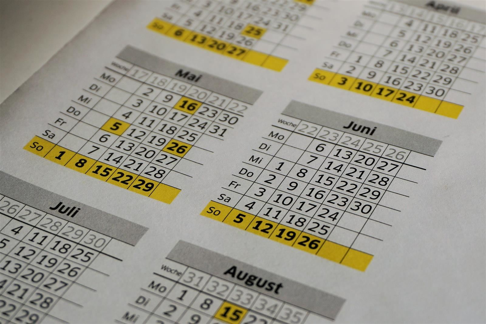 Board of Education Approves 19-20 Calendar