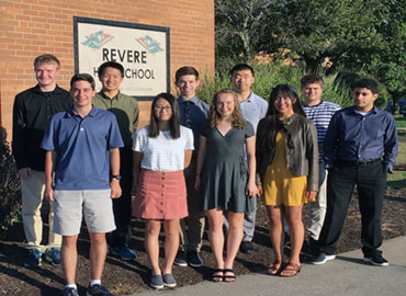 Revere Celebrates Ten National Merit Semifinalists